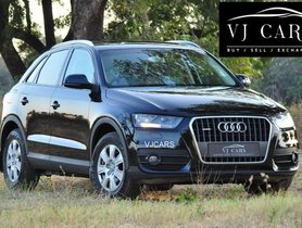 Audi Q3 2012-2015 2.0 TDI Quattro Premium Plus AT for sale in Chennai