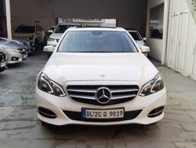 Mercedes Benz E-Class E250 CDI Avantgrade AT 2013-2015 2014 in New Delhi