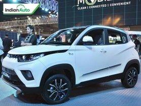 Mahindra eKUV100 To Be Showcased At Auto Expo 2020