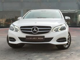 Used 2013 Mercedes Benz E-Class  E250 CDI Elegance AT 2009-2013 for sale in Ludhiana