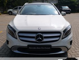 Used Mercedes Benz GLA Class AT car at low price in Nashik