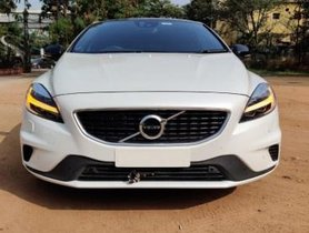 2018 Volvo V40 D3 R-Design AT for sale at low price in Hyderabad