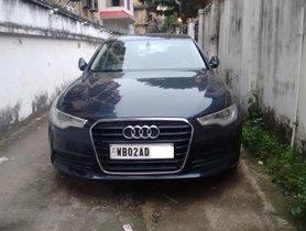 Used 2013 Audi A6 AT 2011-2015 for sale in Kolkata
