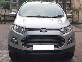 Used 2017 Ford EcoSport 1.5 Petrol Titanium MT for sale in Mumbai