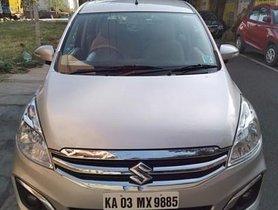 Used Maruti Suzuki Ertiga ZXI MT 2016 in Bangalore