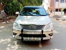 Used Toyota Innova 2.5 VX BS IV 7 STR, 2013, Diesel MT for sale in Erode