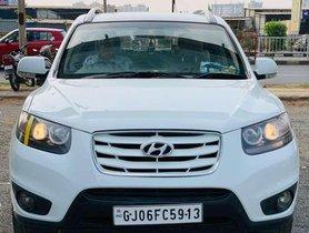 Hyundai Santa Fe 2012 MT for sale in Surat
