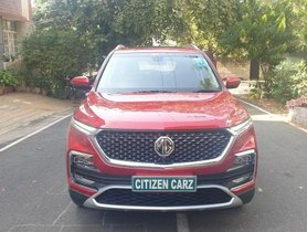 Used MG Hector AT car at low price in Bangalore
