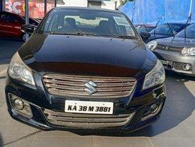 2014 Maruti Suzuki Ciaz  MT for sale in Bangalore