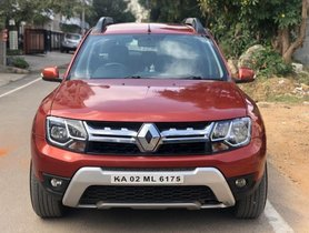 Renault Duster 110PS Diesel RxZ AMT AT 2016 in Bangalore