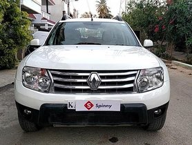 Used Renault Duster 110PS Diesel RxL MT car at low price in Bangalore