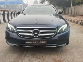2017 Mercedes Benz E Class AT for sale in Dehradun