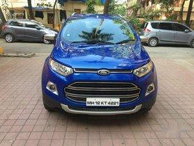 Ford Ecosport EcoSport Titanium 1.5 TDCi (Opt), 2014, Diesel AT for sale in Mumbai