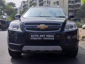 Used 2011 Chevrolet Captiva LTZ VCDi AT for sale in Mumbai