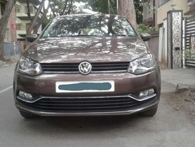 Used Volkswagen Polo 2016 MT for sale in Coimbatore