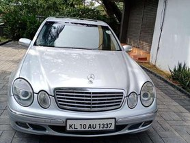 Used Mercedes Benz E Class AT for sale in Kottayam