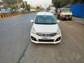 Maruti Suzuki Ertiga Vxi CNG, 2016, Petrol MT for sale in Mumbai