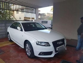 Used Audi A4 35 TDI Premium + Sunroof, 2012, Diesel AT for sale in Coimbatore