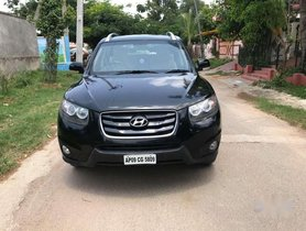Used Hyundai Santa Fe AT for sale in Hyderabad  at low price