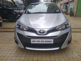 Toyota Yaris V, 2018, Petrol MT for sale in Goregaon