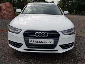 Used Audi A4 2.0 TDI 2012 AT for sale in Navsari