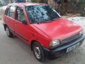 Used 2000 Maruti Suzuki 800 MT for sale in Hyderabad