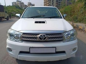 Used 2011 Toyota Fortuner MT for sale in Mira Road
