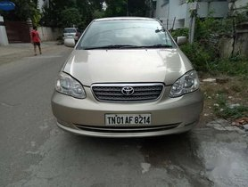 2008 Toyota Corolla MT for sale at low price in Chennai