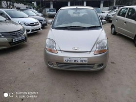 Used Chevrolet Spark 1.0 MT car at low price in Hyderabad