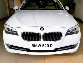 Used 2013 BMW 5 Series AT for sale in Vadodara