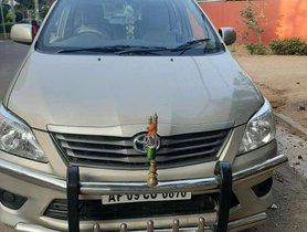 Toyota Innova 2013 MT for sale in Hyderabad
