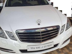 Used Mercedes Benz E Class 2013 AT for sale in Coimbatore