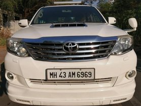 Toyota Fortuner 2011-2016 4x2 Manual MT for sale in Mumbai