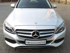 2015 Mercedes Benz C-Class 220 CDI AT for sale at low price in Mumbai
