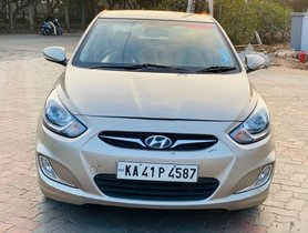 2012 Hyundai Verna 1.6 SX MT for sale at low price in Bangalore