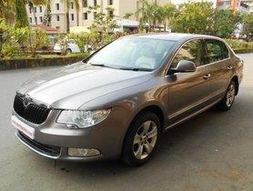 Skoda Superb 2009-2014 Petrol Ambition MT in Mumbai