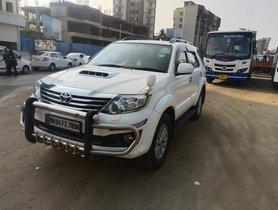 Used Toyota Fortuner 3.0 Diesel MT car at low price in Mumbai