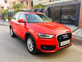 Used Audi Q3 AT 2012-2015 car at low price in New Delhi