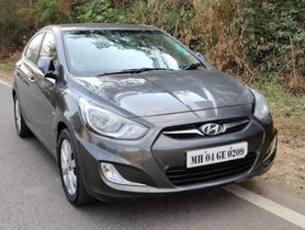 Used Hyundai Verna Version 1.6 SX VTVT MT car at low price in Pune