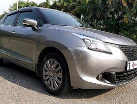 Used Maruti Suzuki Baleno Alpha MT car at low price in Hyderabad
