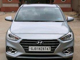 2019 Hyundai Verna Version 1.6 CRDi AT SX for sale at low price in Ahmedabad