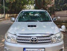 Toyota Fortuner 2009-2011 3.0 Diesel MT for sale in Mumbai
