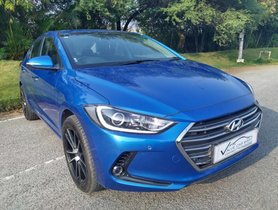 Used Hyundai Elantra 2.0 SX Option AT 2019 in Hyderabad