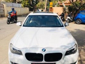 Used 2011 BMW 5 Series 520d Sedan AT for sale in Bangalore