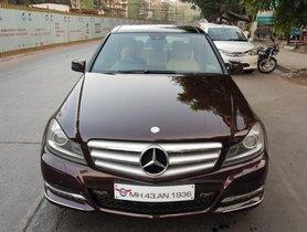 Used Mercedes Benz C-Class C 220 CDI Avantgarde AT 2013 in Mumbai