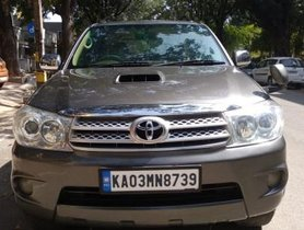 Used Toyota Fortuner 3.0 Diesel 2011 MT for sale in Bangalore