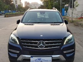 Mercedes Benz M Class ML 350 4Matic AT 2013 in Mumbai