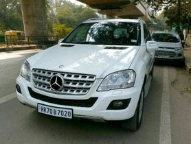 Used Mercedes Benz M Class ML 350 4Matic AT 2010 in New Delhi