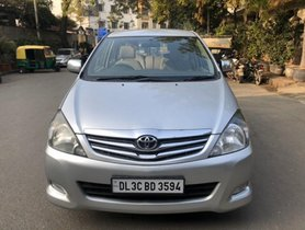 Used 2010 Toyota Innova 2.5 VX 7 STR MT for sale in New Delhi