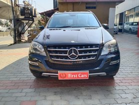 Used Mercedes Benz M Class ML 350 4Matic AT car at low price in Bangalore
